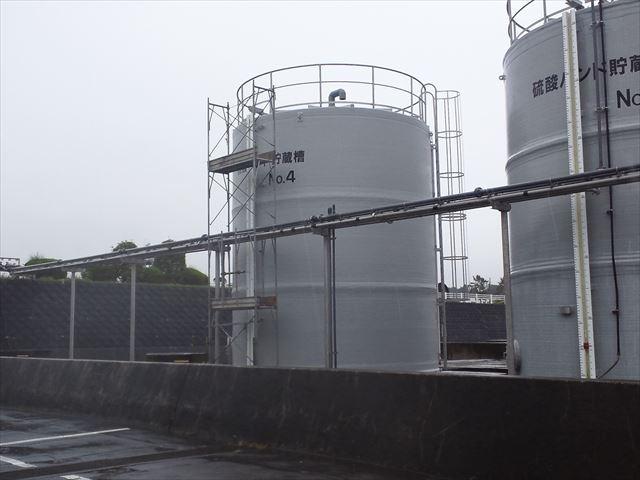 150m3FRP製タンク